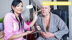 65 yo Citizen Hammers Makeup Artist