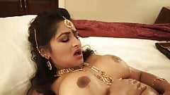 Indian hot wife and husband have hard sex in their first night