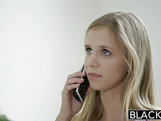 Teen preganacy rate - Blacked petite blonde teen rachel james first big black cock