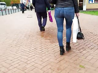 Hot blonde with nice tit - Hot blonde with nice ass go to the pharmacy