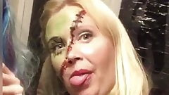 HORNY BLONDE MILF WANTS TO SUCK YOU OFF!