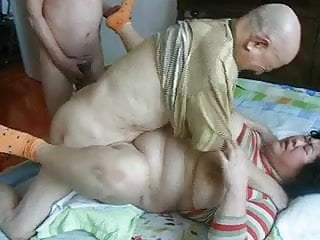 Older asian smoking - Excellent chinese older people having great sex