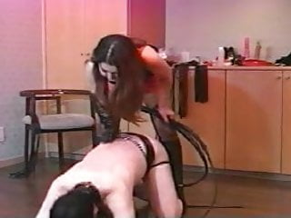 Amateur bullwhipping - Japanese hard bullwhipping