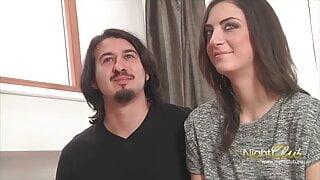 Amateurpaare machen ihr erstes Casting, heute Maria und John