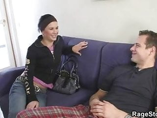 Aggressive balls sex Aggressive throat and pussy pounding