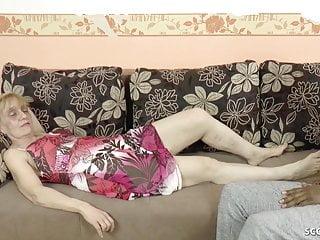 Granny seduces cock Huge dick black refugee seduce german granny to fuck