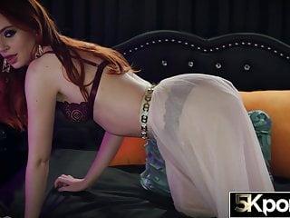 Fiery redhead pussy pic - 5kporn - fiery redhead maya kendrick filled with jizz