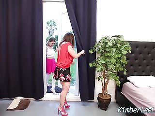 Big tit 3some hd - Kimber lee in all girl 3some with sara jay maggie green