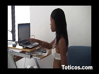 Julia thick ass Toticos.com dominican porn julia 18yo black latina teen fuck