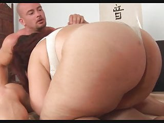Big boucning boobs Unforgettable redhead-bbw-milf with huge-boobs fucked