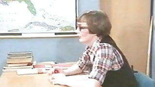 Fucking in the classroom (vintage)