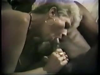Sexy fix Old broad in stockings gets her black cock fix, 1 of 2