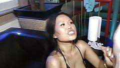 Not enough cum for amateur whore Asia-Nicci