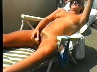 Hot sex on balcony Jean on balcony