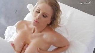 Julia Ann fucking after a relaxing bath