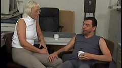 Oma Thea sexy german mature fucked