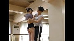 JAPANESE BALLET TEACHER  LEZ SEDUCTION