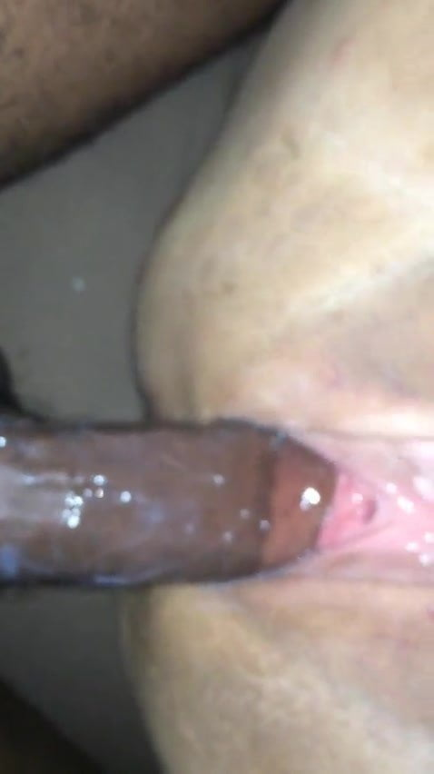 Wet white pussy fat Big Black