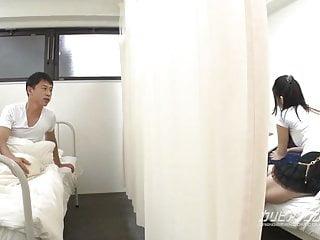 Asian door mat Oh man, what shes doing next door