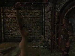 Peril gun porn Perils of escaped skyrim slavegirl 18
