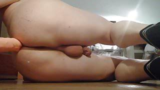 My ass and dildo