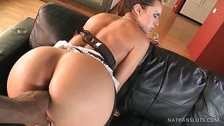Bubble butt Pornstar Franceska Jaimes Gaped & BBCed in POV