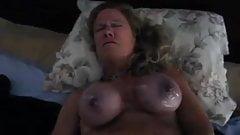 I'm Submilf or Milf2, orgasm with hard tied big tits bondage