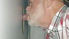 My lovely grandpa...Grandpa's ass hole always smells of cum