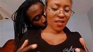 Ebony mature getting fucked