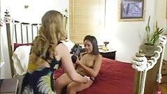 Blonde On Brunette Homemade Lesbian Video