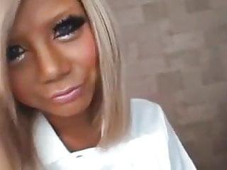 Natalie blonde pantyhose tease - Sheer white japanese pantyhose blonde hottie tease