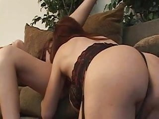 Mature Woman With Big Tits Fucks Young Hottie With Dildo
