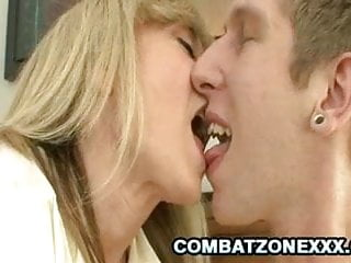 Maury having a pornstar Nina hartley - famous pornstar milf having a young cock
