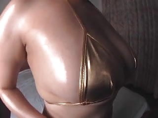 Nude oily massage for cum Oily massage with big boobs