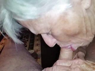 Amateur homemade videos granny sucking cock - Granny sucking my cock