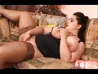 Jumbo titty cum - German jumbo tits waiting for a man