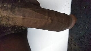 My big long black dick