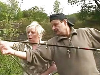 Xxx fishing pictures Fishing trip with a threesome
