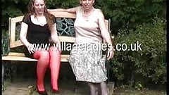 Emma and Dora more Village Ladies