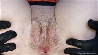 Slut sucks, fucks and gets a cum facial in sexy lingerie