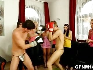 Underwear personality boxers bikini Hot cfnm teens undress and fuck 2 muscled boxers