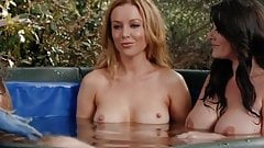 NUDE CELEBS 21 (ONLY BOOBS SCENE) Hungovergames