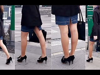 Leg sexy showing their woman - 86 woman with sexy legs in pantyhose and high heels