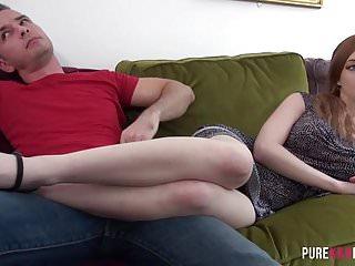Ginger cunt Enjoying ginger stepsister