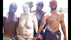 Kawk36s Ehefrau mit dicken Titten ist eine Schlampe für schwarzen Schwanz