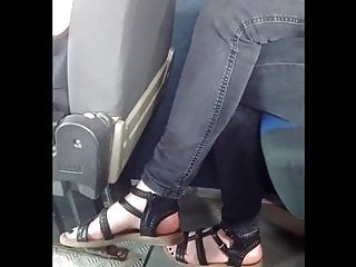 Asian feet vids Candid feet bus closeup vid 20180621 170958291 hd