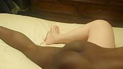 Hubby film wife with bbc
