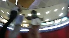 Upskirt Party Teen in Hungry Jacks