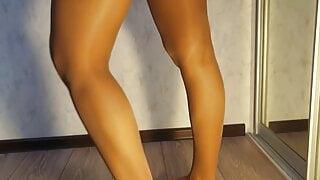 hot schoolgirl in pantyhose. part.2