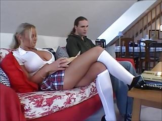 Busty swedish girls Busty blonde schoolgirl nicole gets shaved pussy fucked